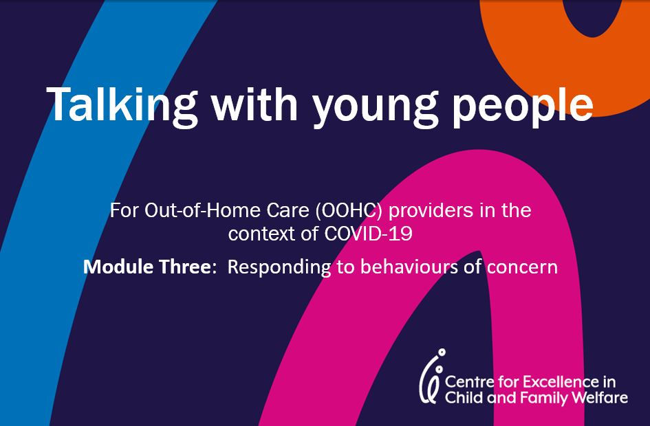 Module 3: Talking to Young People