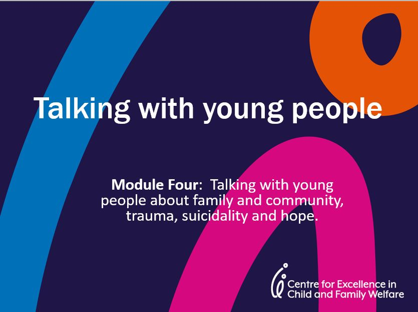Module 4: Talking to Young People